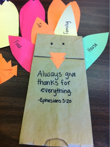 Thankful activities for kids for Thanksgiving sunday school crafts
